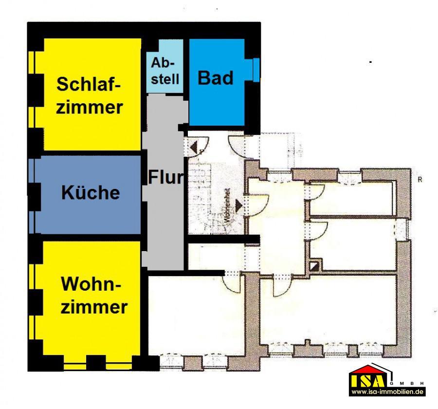 isa wohnung sangerhausen 2 rw h ttenstra e mit balkon. Black Bedroom Furniture Sets. Home Design Ideas